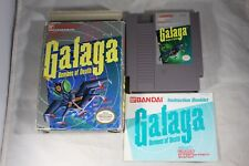 Galaga Demons Of Death (Nintendo NES) Complete in Box FAIR