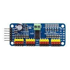 PCA9685 16 Channel 12 bit PWM Servo Driver I2C Controller Module for