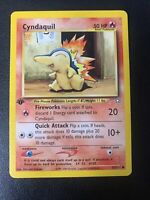 Cyndaquil 57/111 1st Edition Non-Holo LP Neo Genesis Pokemon Cards