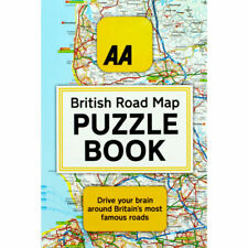 The AA British Road Map Puzzle Book by Helen Brocklehurst (Paperback)