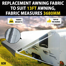 8 FT Replacement Roll out Caravan Awning PVC Vinyl Fabric Carefree Canvas