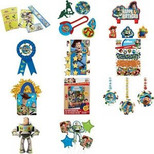 Disney Pixar Toy Story Kids Birthday Party Tableware Decorations Balloons Access