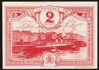 2 FRANCS 1920 DIEPPE / FRANCE - Billet de nécessité - chambre de commerce