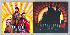 Take That Giant 2 CD Single Bundle 2017 Hand Signed UK Postage
