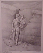Jon Reich Art Gallery  Quest for Freedom  print  limited edition  B&W  Male nude