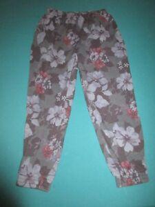 VICTORIA SECRET PINK Womens Blue Floral Sweat Pants Size Large L