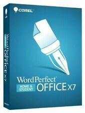Corel WordPerfect Office X7 Not X8 Word Home & Student Genuine Guarantee