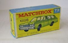 Repro Box Matchbox 1:75 Nr.73 1968 Mercury