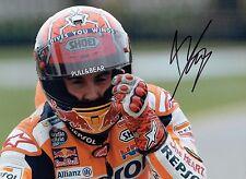 Marc MARQUEZ 2017 SIGNED 16x12 Autograph Photo 4 AFTAL COA MOTOGP Honda Rider