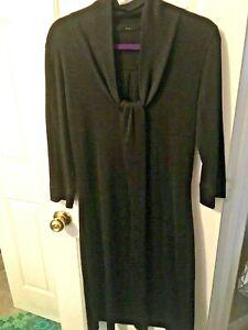 Boss Black Knit Dress Size Large US 10-12 UK 14-16