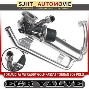 EGR Valve Cooler for Audi A3 VW Jetta Passat Polo Caddy 1K1 1F7 Skoda Roomster