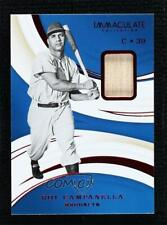 2020 Panini Immaculate Red 14/25 Roy Campanella #34 HOF