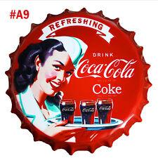 US Tin Metal Beer Bottle Caps Sign Poster Plaque Bar Pub Club Wall Home Decor