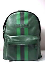 Coach Men's Charles Varsity Palm/Pine/Black Backpack F72237