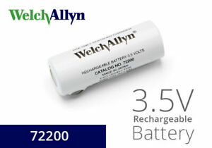 72200 3.5 V Nickel-Cadmium Rechargeable Battery Welch Allyn (Black Lettering)NEW