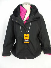 Gerry Women's Heavy Winter Coat + Pink Insulation Jacket Black US Size L NWT