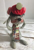 Vintage Annalee Mobilitee Tooth Ache Mouse Figure