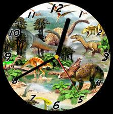 I dinosauri Cd Orologio, supporto libero può essere personalizzato
