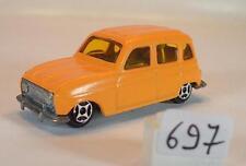 NOREV Mini Jet n. 301894 RENAULT 4l ARANCIO #697