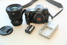 Sony Alpha a900 24.6 MP DSLR with Sigma 24-70mm f/2.8 Lens