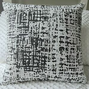 Cushion Cover Textured Grey & Off White Handmade Home Decor 45x45 or 50x50 New