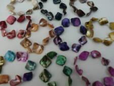 Wholesale & Job Lot 6 Stretch Mother of Pearl Bracelets UK Seller Fast Delivery