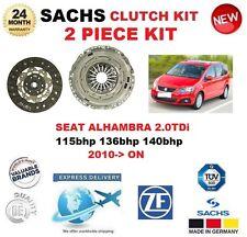 für Seat Alhambra 2.0 TDI 115 136 140 BHP ab 2010 SACHS 2-tlg Kupplungssatz