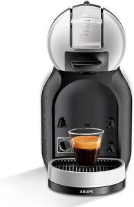 Krups KP123B40 NEW Nescafe Dolce Gusto Mini Me Pod Coffee Machine Grey & Black