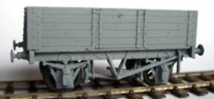 Cambrian C44 OO Gauge 10ton 5-plank Fixed End Wagon (15' Glos. 1907 type) Kit