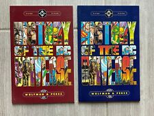 HISTORY OF THE DC UNIVERSE 1986 Issues 1 and 2 - Wolfman Perez  VF/NM  DC Comics