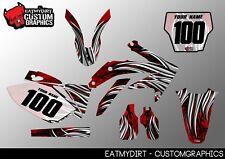 TO FIT HONDA CRF 450 2005-2008 SEMI CUSTOM GRAPHICS STICKERS MOTOCROSS DECALS MX
