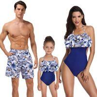 Sexy Bikini Set for Women and Children Boys Girls Kids Swimwear Family Matching