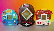 Monopoly , Cars, Go Diego - Disney Electronics Handheld LCD 3 Game Lot Rare Fun