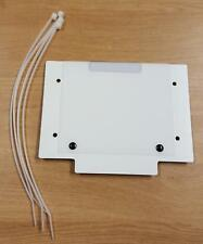 WHITE FRONT NUMBER BOARD FOR TRIALS TRAILS OFFROAD BIKES
