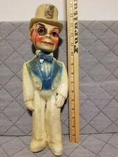 "Vintage Kewpie Doll Chalkware Carnival Statue Amusement Park Fair Prize / 15"""