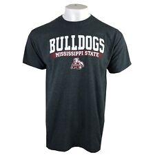 Mississippi State Bulldogs Ncaa Adult Men'S Gray T-Shirt S M L Xl 2Xl Free Ship