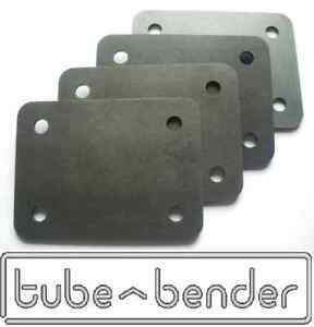 4 (75x100x3mm) Roll Cage Footplates Strengthening, Mounting, Fabrication Steel