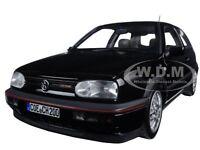 1996 VOLKSWAGEN GOLF GTI 20th ANNIVERSARY BLACK METALLIC 1/18 BY NOREV 188415