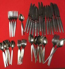 Set of 59 ONEIDA Community Stainless (OLDER SATINIQUE) Betty Crocker - Lot Mixed