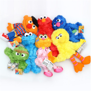 SesameStreet Plush Hand Puppet Muppet Elmo Ernie Big Bird Toy Kid Christmas Gift