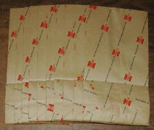International Harvester Ih 10 Vintage Dealer Paper Bags Parts Sales No. 6 size