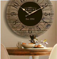"25""/30""/36"" Large Wall Clock, Oversized wall clock, Wall decor #37"
