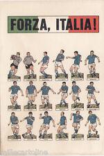 #SPORT - CALCIO: FORZA ITALIA- Albertosi- Pizzaballa...Rivera -Mazzola..
