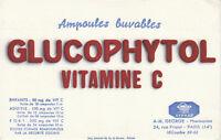 Buvard  Glucophytol  Laboratoires Syphar