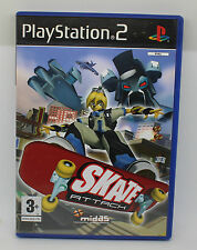 SKATE ATTACK   SONY PS2 PLAY STATION PS 2