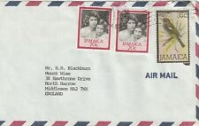 1987 Jamaica cover sent from Kingston to North Harrow Middlesex