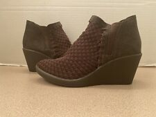 Steven By Steve Madden Brown Ankle Boots 9