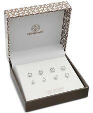 Giani Bernini Sterling Silver Cubic Zirconia 3 Set Stud Earrings Cm259