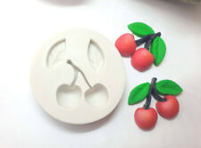 Silicone Mould cherry summer chocolate clay wax soap resin sugarcraft