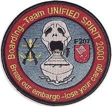 Marine Aufnäher Patch Fregatte Bremen F207 Bording-Team 2000 ..........A2802